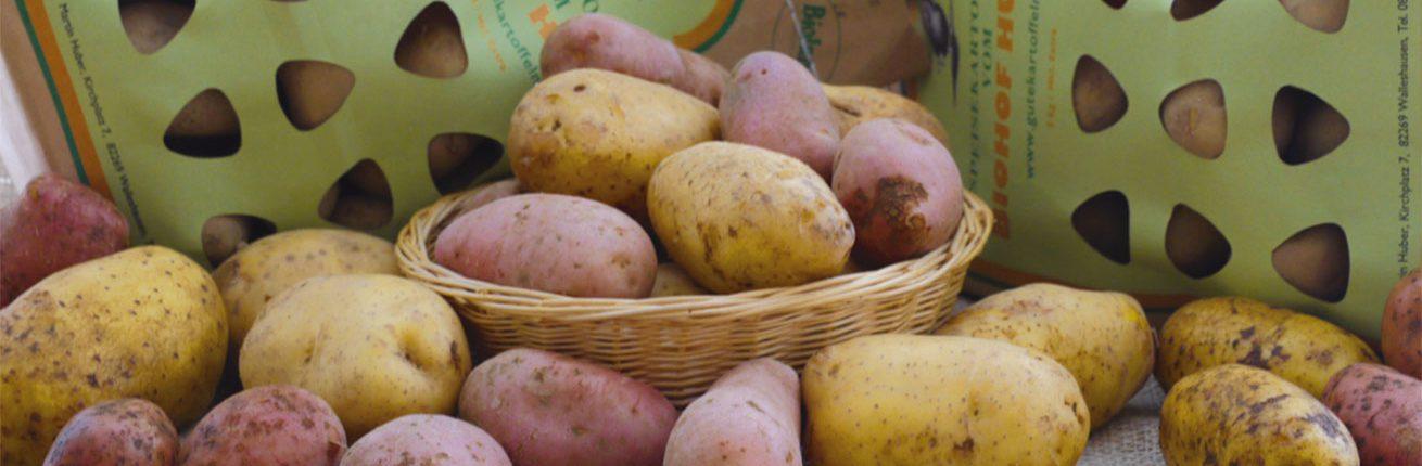 Kartoffelsorten Biolandhof Huber Walleshausen