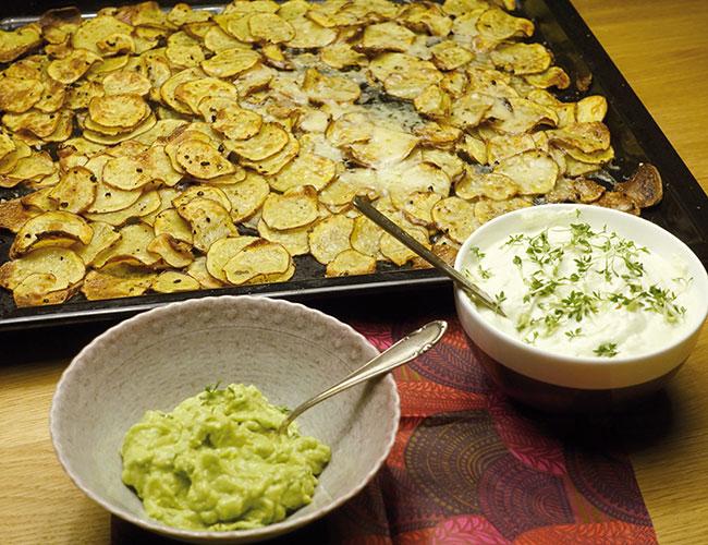 Rezept Blechkartoffeln