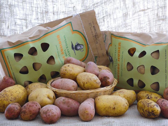 Kartoffelverkauf Biolandhof Huber Walleshausen